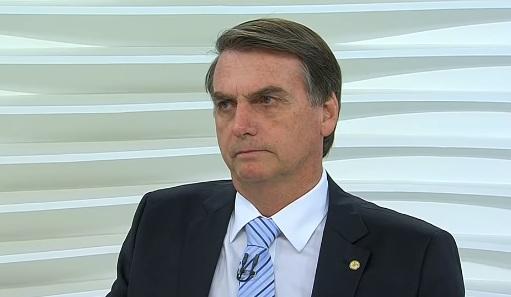 Bolsonaro no programa Roda Viva