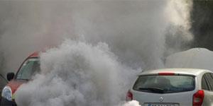 Fumaça de carro