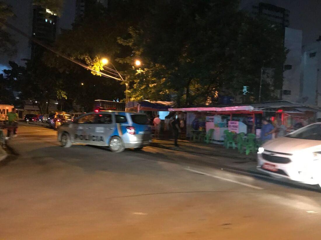 O crime aconteceu na Rua Professor Jose Brandão