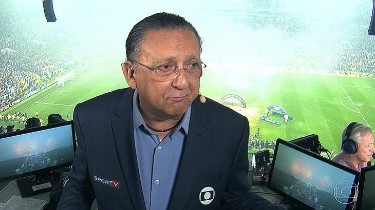 Galvão Bueno narrador da Globo