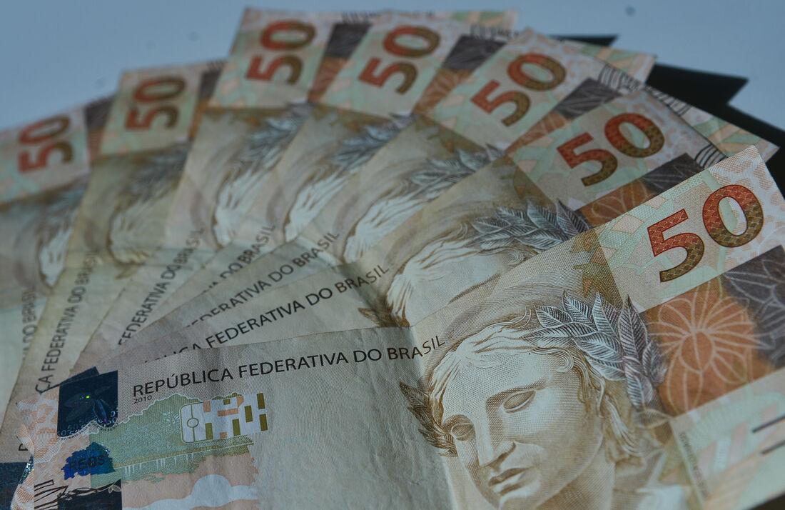 Cédulas de R$50