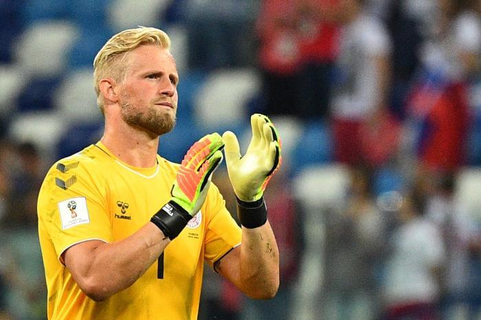 Kasper Schmeichel, goleiro da Dinamarca