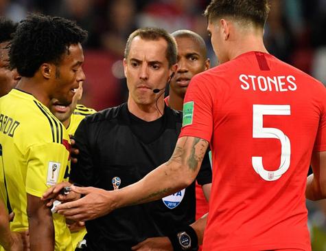 Stones criticou seleção colombiana