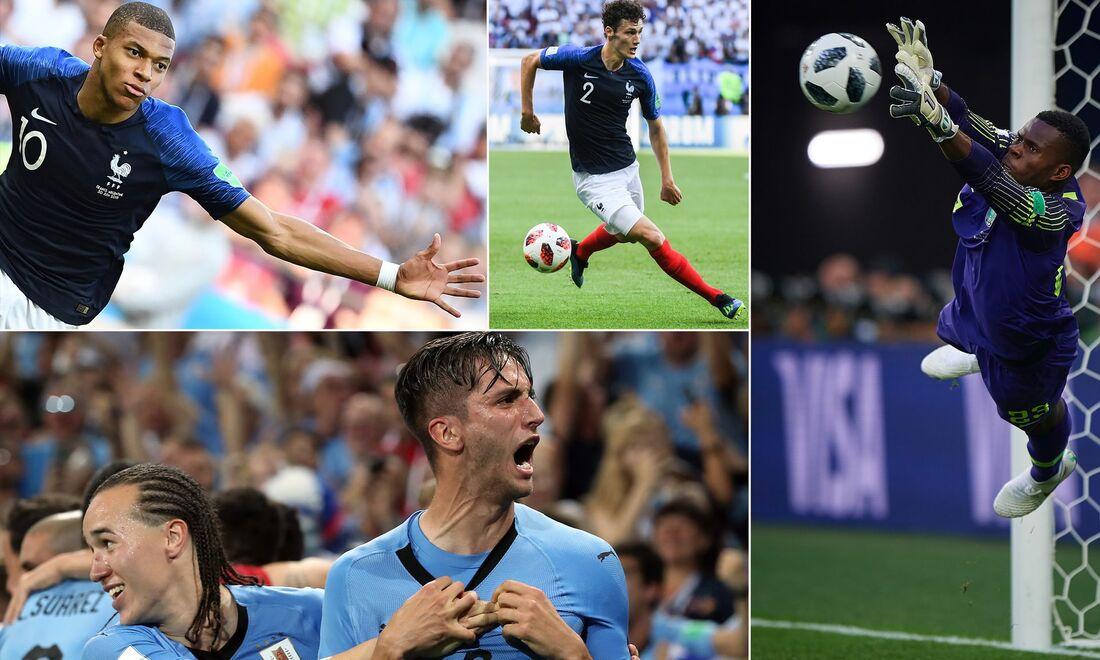 'The Golden Boys', seleção dos melhores jogadores até 23 anos que atuaram na Copa da Rússia, feita pelo jornal The Guardian