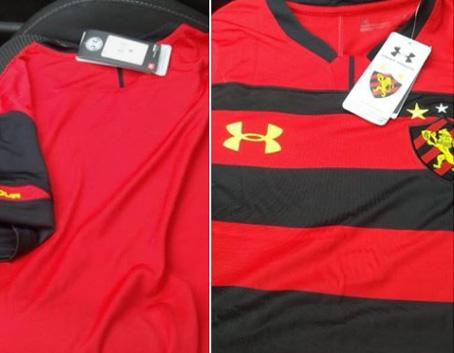 Imagem do suposto novo uniforme do Sport.
