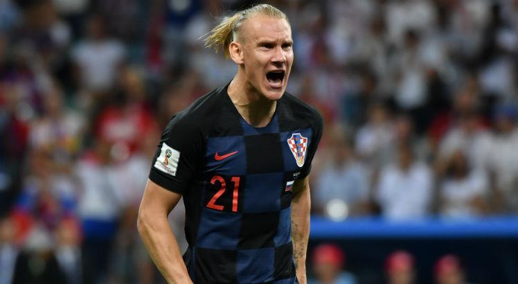 Zagueiro Vida se envolveu em polêmica após a vitória da Croácia nos pênaltis sobre a Rússia