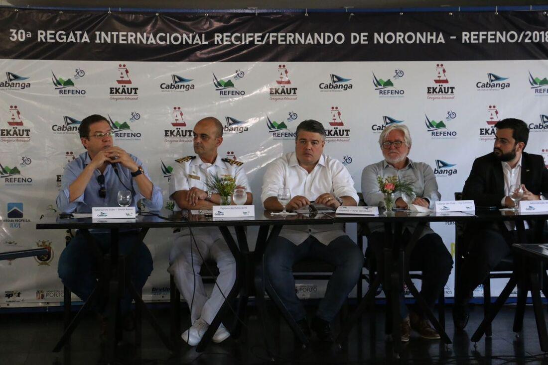 Coletiva de lançamento da Refeno ocorreu no Cabanga Iate Clube de Pernambuco