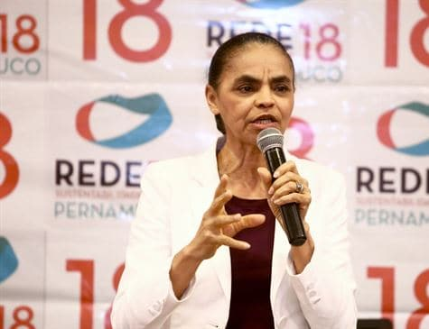 Marina Silva é uma das duas mulheres candidatas à Presidência da República