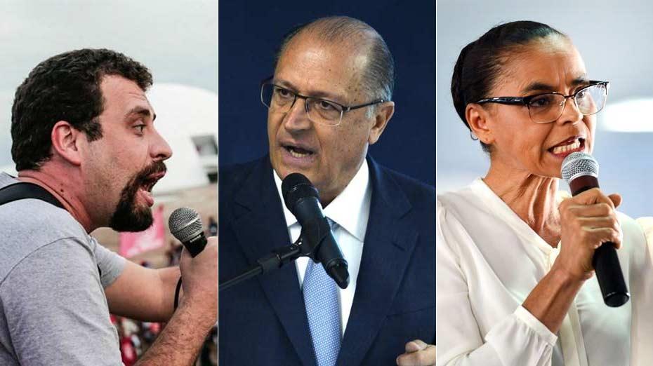 Boulos, Alckmin e Marina são os primeiros presidenciáveis a vir a Pernambuco nos próximos dias