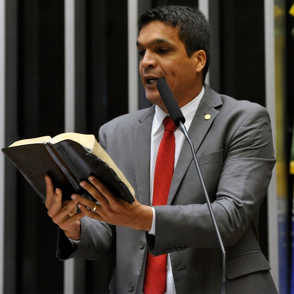 Candidato à Presidência da República derrotado, Cabo Daciolo (Patriota)