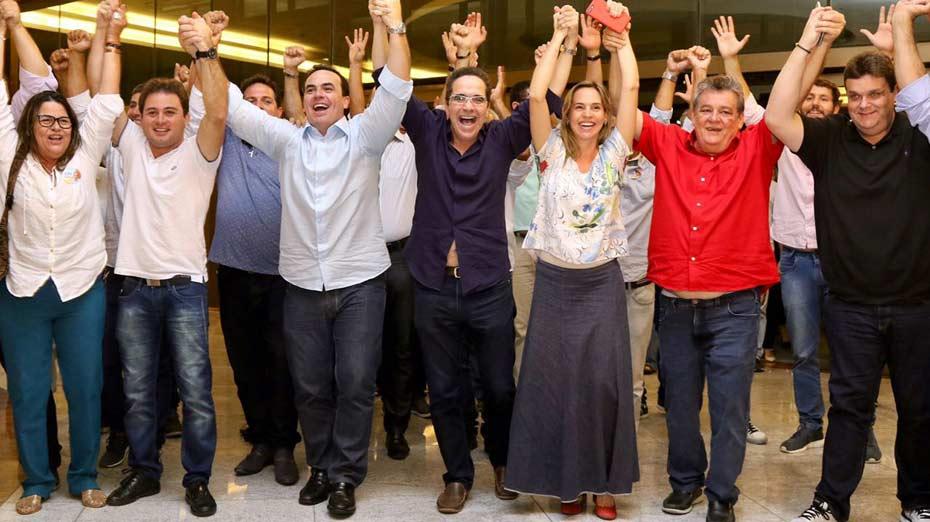 Chapa tem Maurício Rands, Isabella de Roldão, Sílvio Costa e Jayme Asfora