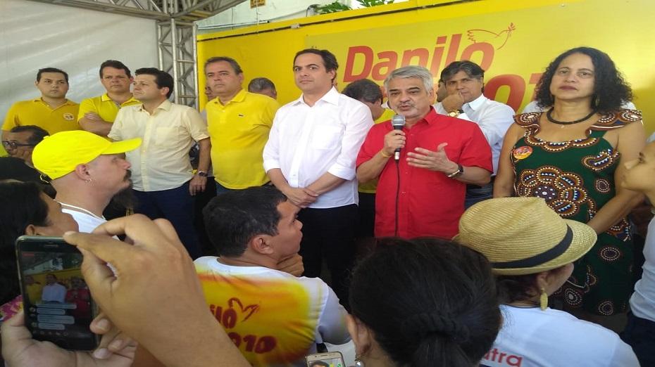 Humberto Costa esteve presente a mais um ato da Frente Popular