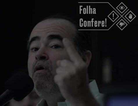 Sabatina de Júlio Lóssio na Rádio Folha passa por checagem de fatos