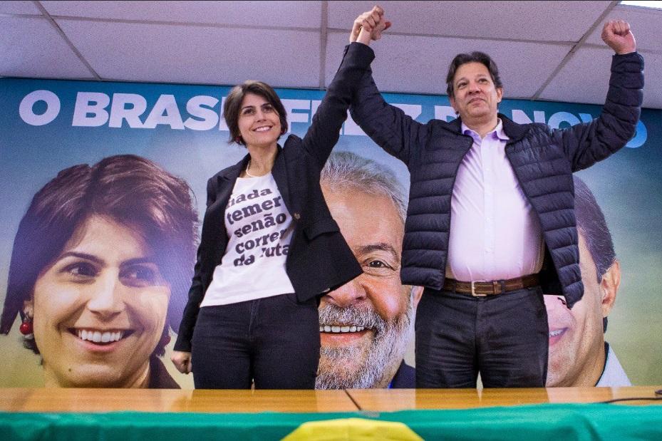 O nome de Haddad (PT) começa a ser sinalizado como substituto de Lula, como candidato à presidência