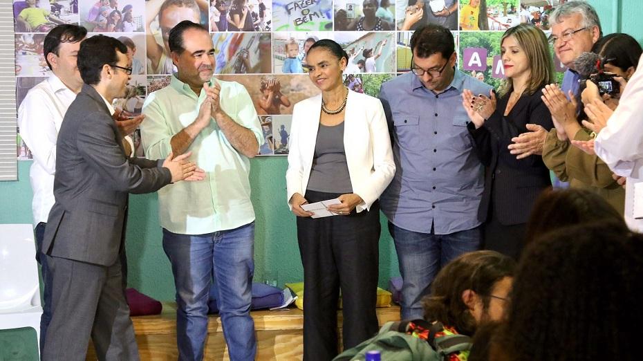 Marina Silva (REDE) em agenda em Pernambuco