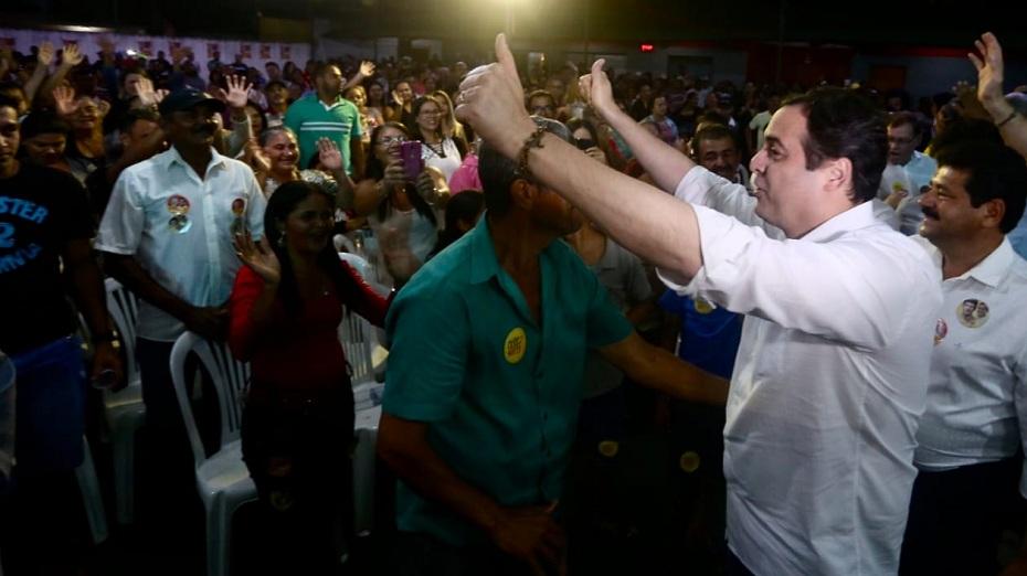governador e candidato à reeleição Paulo Câmara (PSB), na Mata Sul