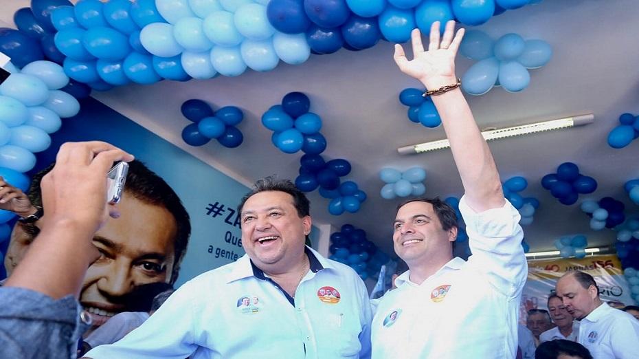 Sebastião Oliveira e Paulo Câmara, em Serra Talhada