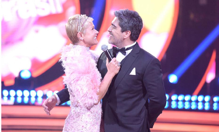 Xuxa e Junno, no 'Dancing Brasil'