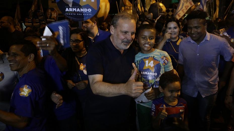 Armando Monteiro Neto (PTB), senador e pré-candidato ao Governo do Estado