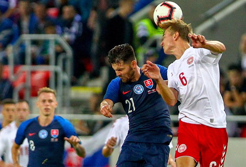 Eslováquia x Dinamarca
