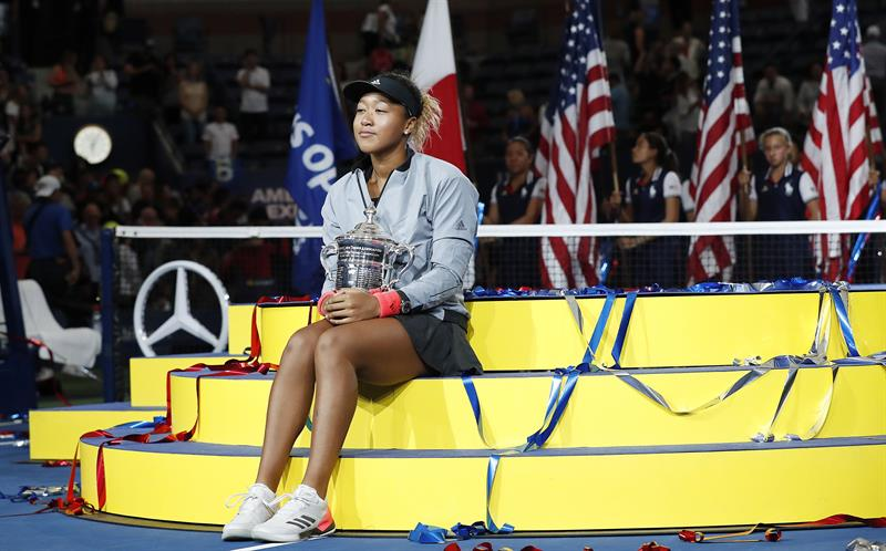 Naomi Osaka foi campeã do US Open