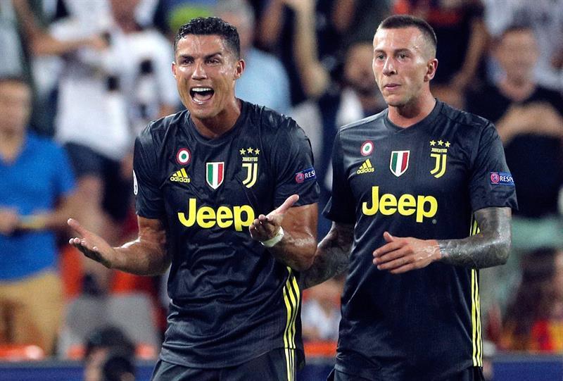 Cristiano Ronaldo, pela Juventus