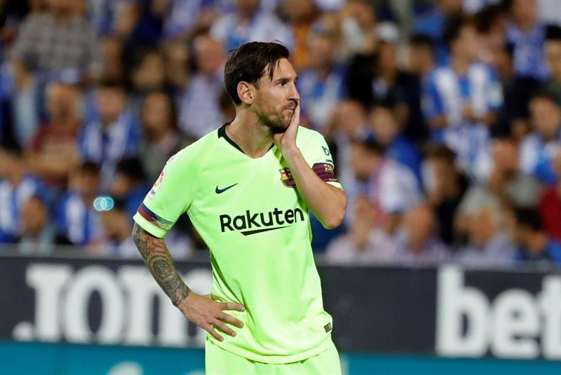 Messi, pelo Barcelona