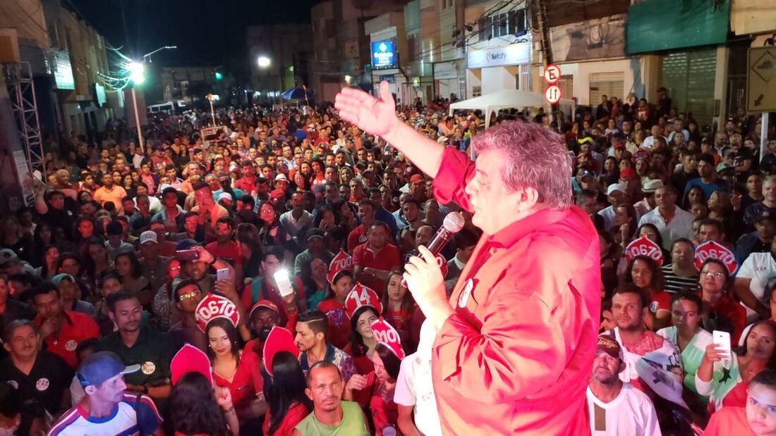 Sílvio Costa na Cidade de Belo Jardim