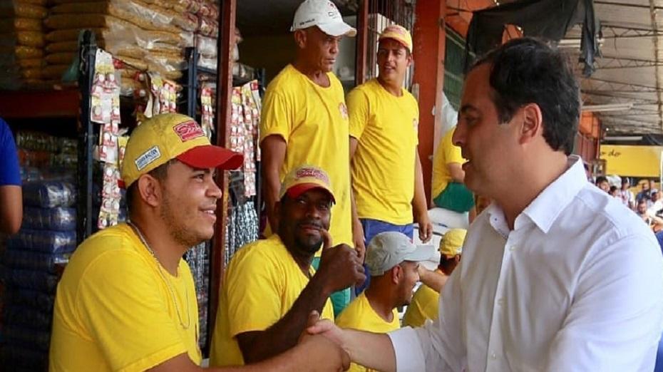 Paulo visitou comerciantes e pretende incentivar agricultura familiar