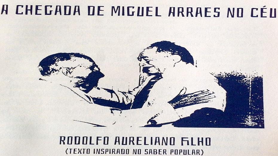 Livreto tenta relatar como seria hipoteticamente a chegada ao céu do ex-governador