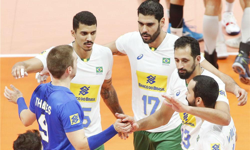 Brasil fechou a segunda fase com vitória