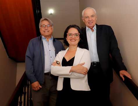 Governança familiar: Boris Berenstein, Elaine Cabral e Antônio Jorge