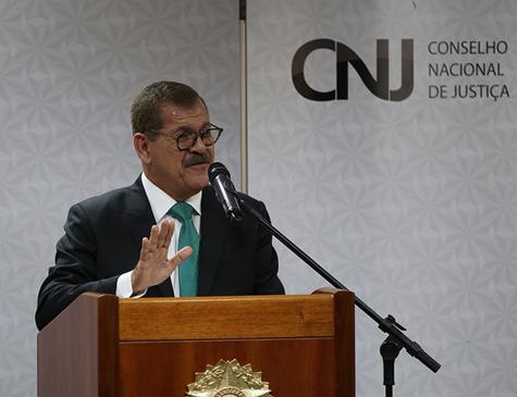 Corregedor do Conselho Nacional de Justiça (CNJ), ministro Humberto Martins
