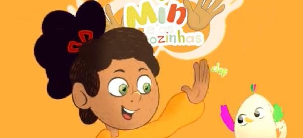 Min e as Mãozinhas conta histórias do cotidiano e aventuras lúdicas de Min, uma menina surda