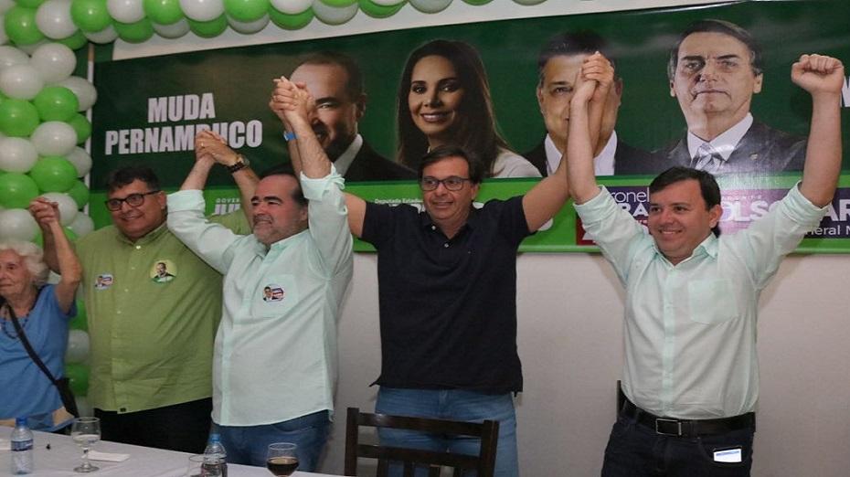 Lossio recebeu apoio do Coronel Meira (PRP) e Gilson Machado Neto (PSL) teve comportamento repudiado pela executiva nacional da sigla