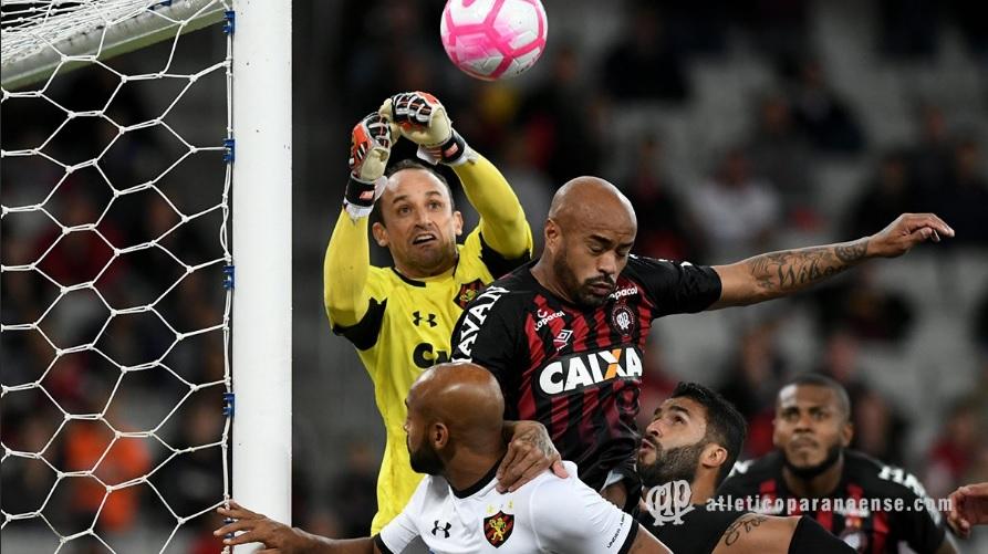 Atlético/PR 4x0 Sport