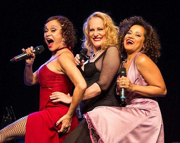 Tânia, Lucinha e Virgínia mostram todo o seu talento