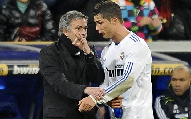 Cristiano Ronaldo e Mourinho tiveram relação abalada na época de Real Madrid