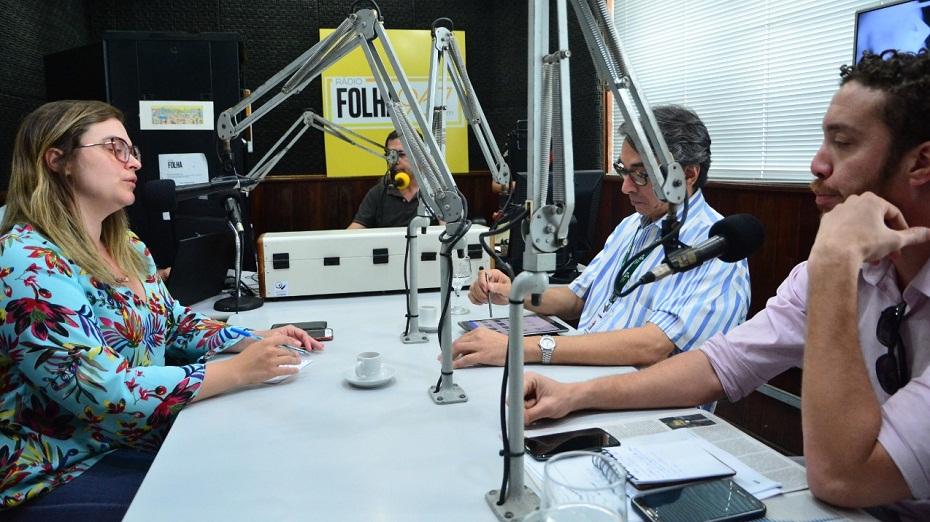 Marília Arraes (PT) em entrevista à Rádio Folha