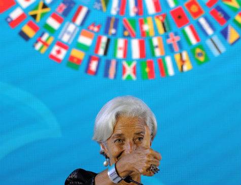 Christine Lagarde, diretora do Fundo Monetário Internacional (FMI)