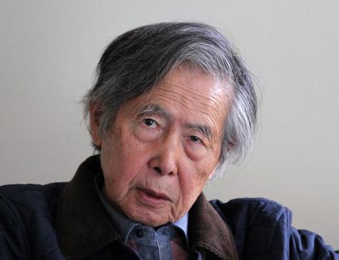 Ex-presidente do Peru Alberto Fujimori