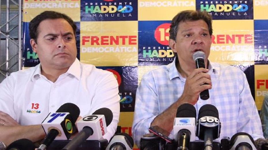 Paulo Câmara disse ao longo da campanha que foi aliado de primeira hora de Fernando Haddad