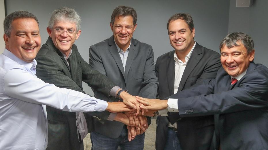 Lideranças do PSB fizeram uma reunião com o presidenciável nesta quarta (10)