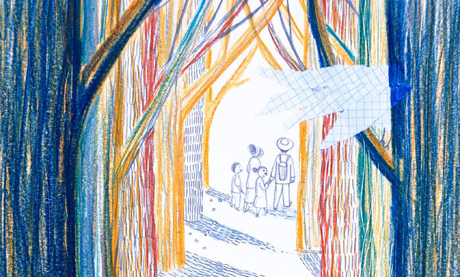 Detalhe de ilustração de Joana Velozo
