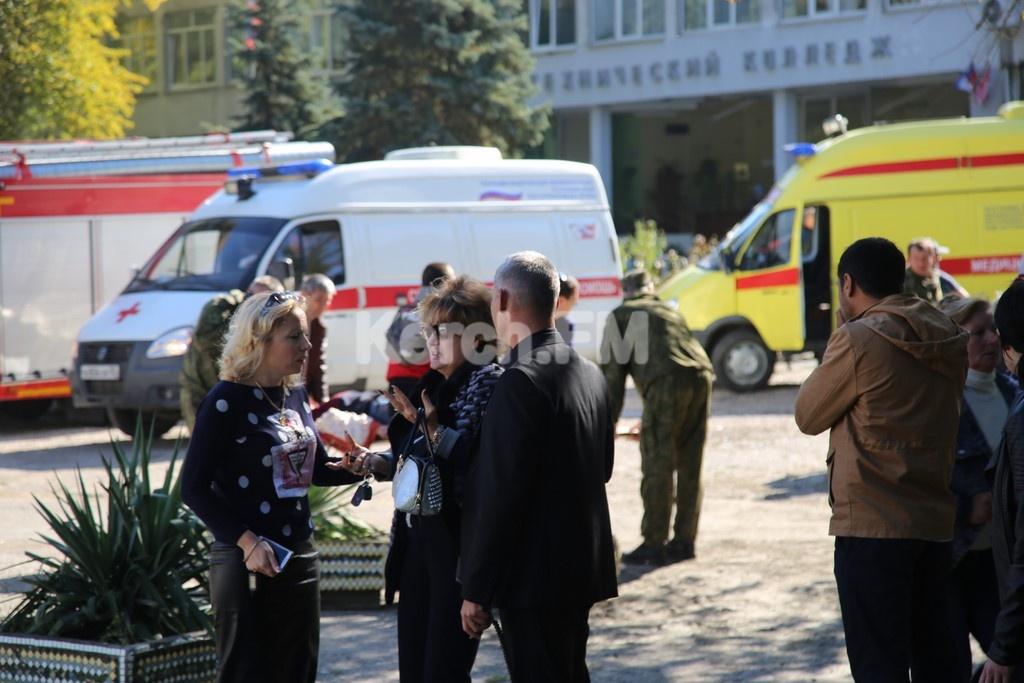 """Explosão em escola na cidade de Kerch, na Crimeia, é investigada como """"ato terrorista"""""""