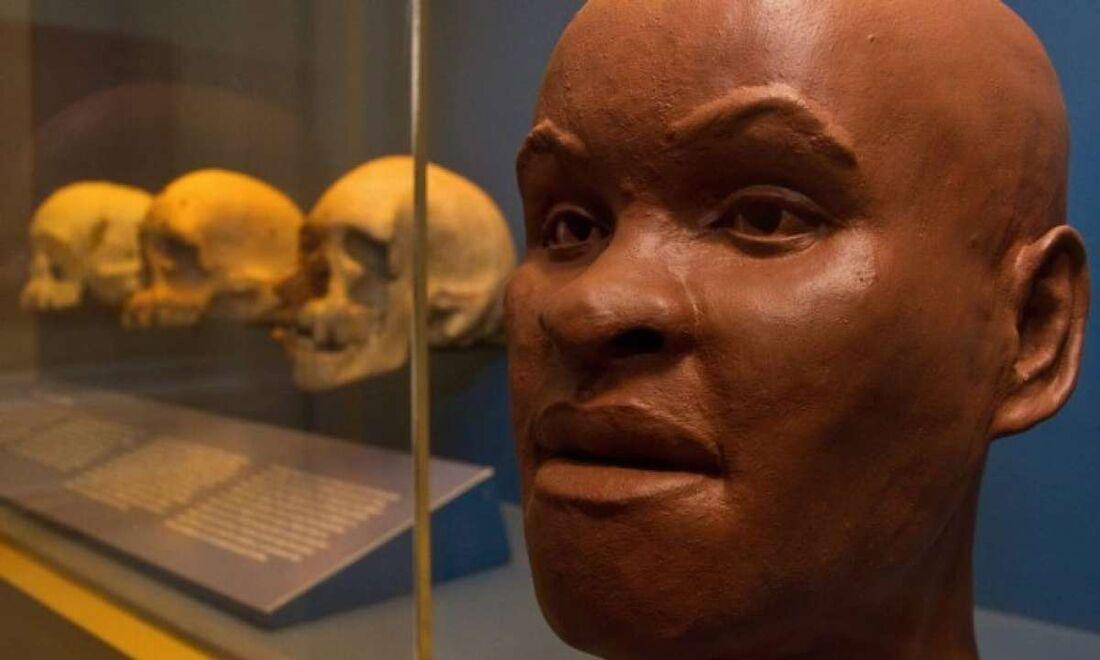 O fóssil tem cerca de  12 500 a 13 000 anos