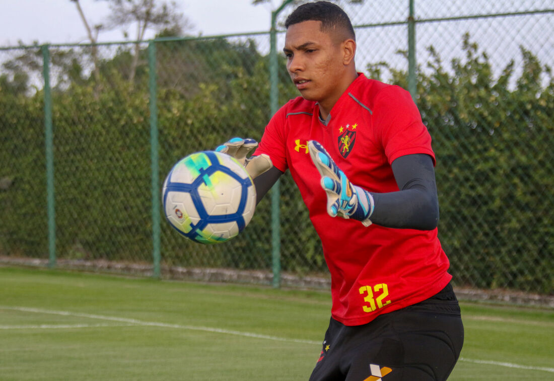 Goleiro Mailson, do Sport.