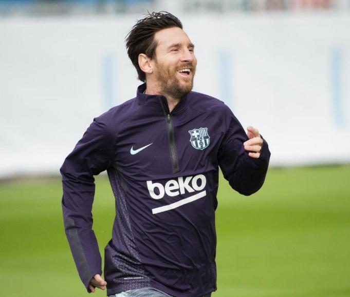 Recuperado, Messi voltou a comandar Barcelona