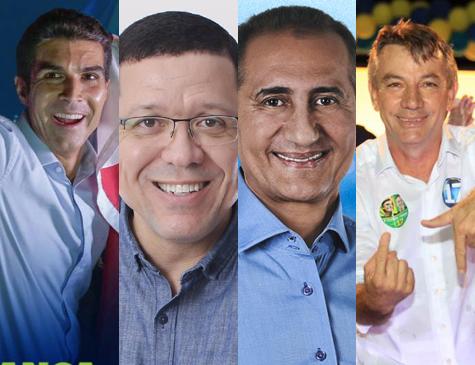 Governadores eleitos no Norte