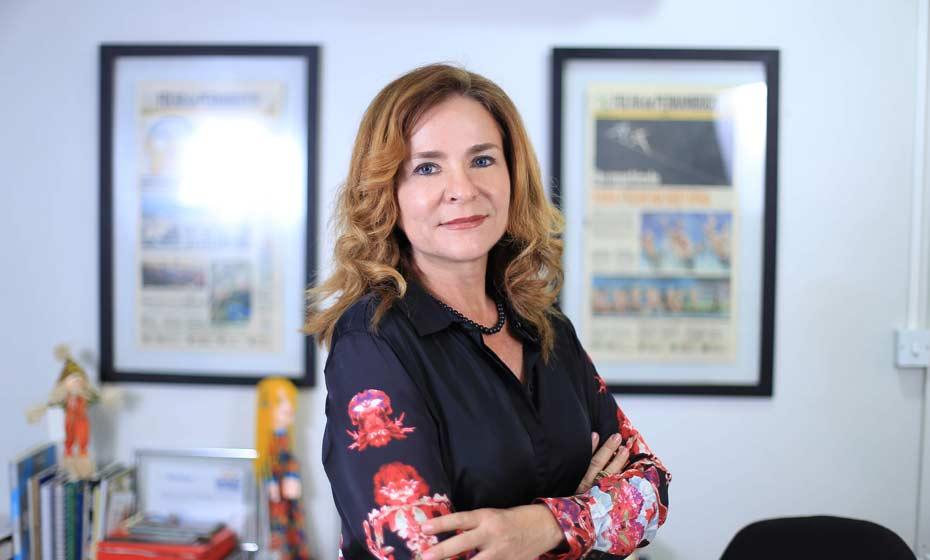 Patrícia de Raposo, editora chefe da Folha de Pernambuco